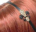 fleur-de-lis headband