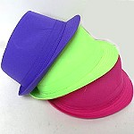 Bright Color Fedoras