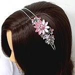 crystal hair ornaments