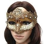 Ventian style macrame masks