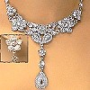 LAVISH CRYSTAL NECKLACE SETS INSPIRED BY ROYALTY #66