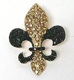 Fleur-de-lis pin 91
