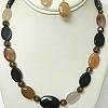 Agate necklace set