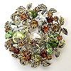 crystal brooch #53