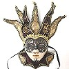 WOMEN'S EXCEPTIONAL VENETIAN STYLE MASKS #67