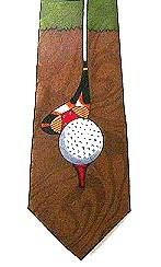 golf theme tie