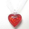 Glass Valentine Necklace