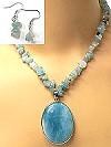 Amazonite necklace set 56