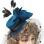 felt mini hats