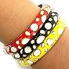 enameled bracelets