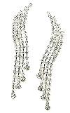 Pageant Rhinestone Earrings
