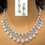 elegant bridal necklace set fresh design