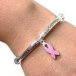 pink ribbon bracelet 91