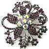 crystal brooch #48