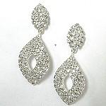 Bold Rhineshone Earrings