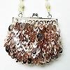sequinevening purse