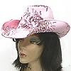 floral cowboy hats
