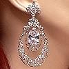 large crystal earrings 43