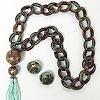 Patina necklace set