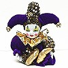 Mardi Gras doll #41
