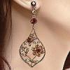 crystal earrings 49
