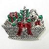 Christmas basket pendant