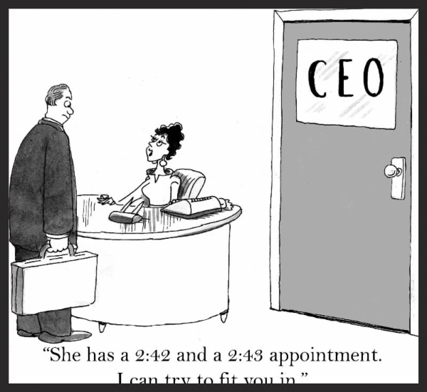 Comic - Busy CEO's Admin Assistant