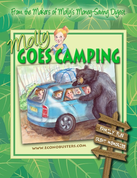 molly goes camping