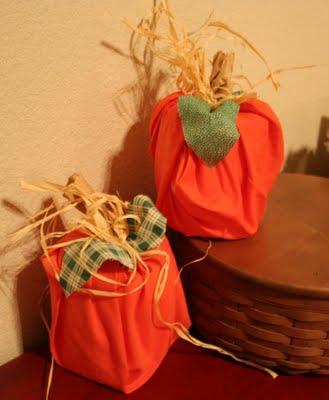toilet paper pumpkins
