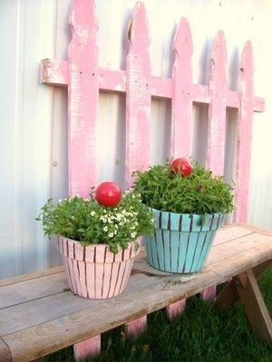 Cupcake Planter