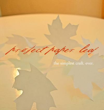 Paper Leaf Project