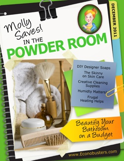 Molly Saves! In the Powder Room