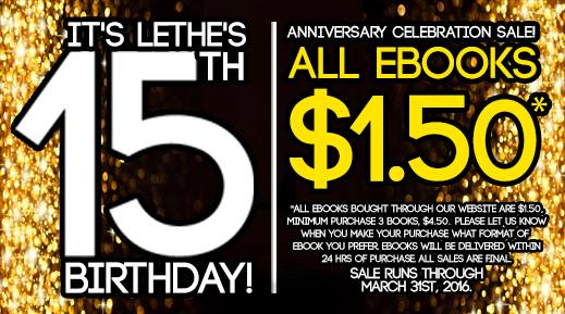 Lethe Press 15 th Birthday