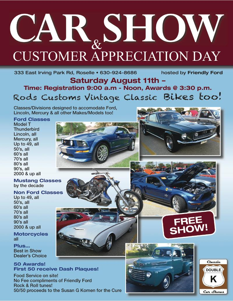 Sat Friendly Ford CarBike Show Sun Hooters Of Joliet CarBike Show - Friendly ford roselle car show