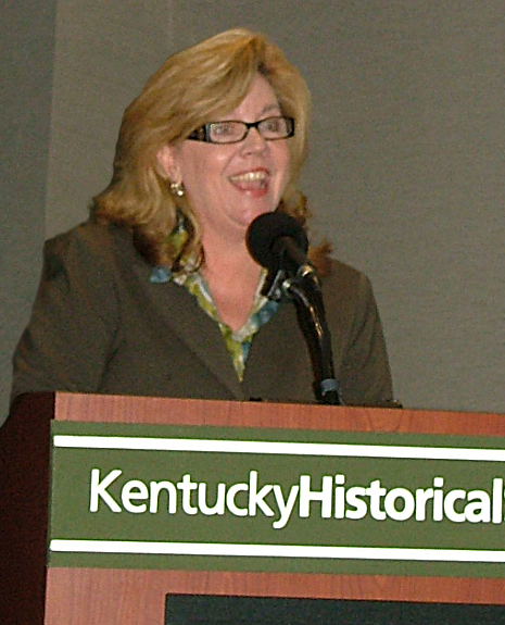 Secretary Haynes speaking at 2012 Resource Parent Reception