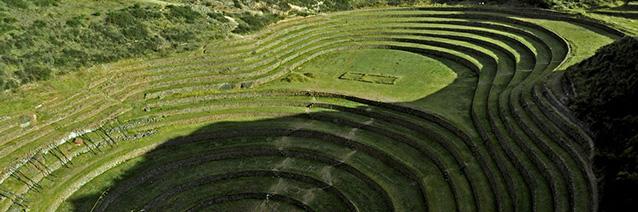 Inca Ruins_ Moray_ Peru.
