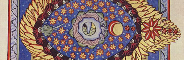 Hildegard von Bingen_ _The Universe_ _detail__ Scivias Codex_ c. 1165.