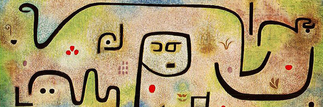 Insula dulcamara _detail__ 1938_ Paul Klee_ Zentrum Paul Klee_ Bern_ Switzerland