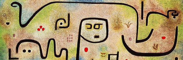 Insula dulcamara _detail__ 1938_ Paul Klee_ Zentrum Paul Klee_ Bern_ Switzerland