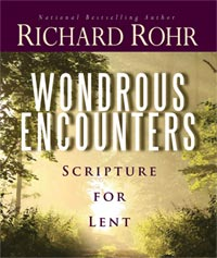 Wondrous Encounters: Scripture for Lent (book cover)