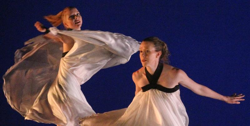 TLD Dancers Alisa Fendley & Chriselle Tidrick