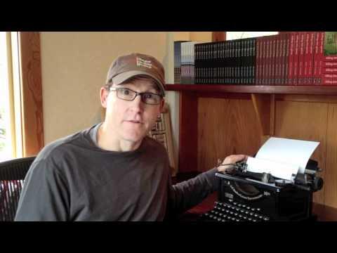 Adopt a Typewriter