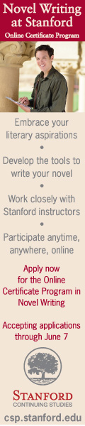 Novel writing at Stanford