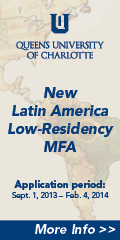 Queens University of Charlotte New Latin American low-residency MFA