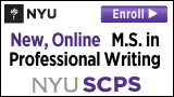 M.S. in Professional Writing - NYUSCPS