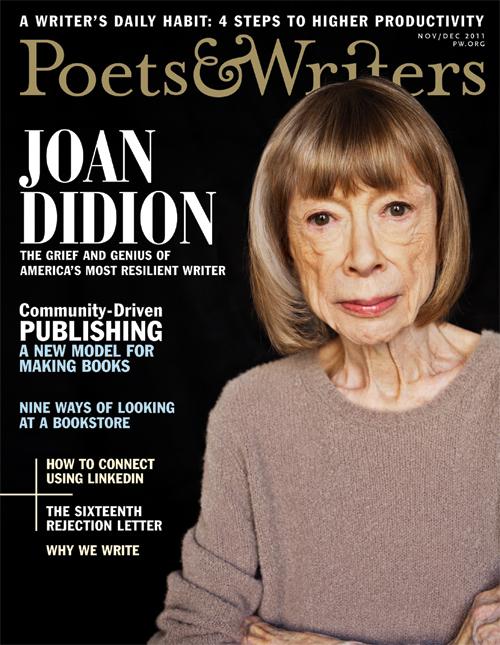 Poets & Writers Magazine, Nov/Dec 2011