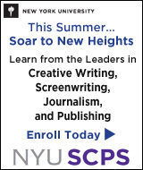 NYC SCPS learn from the leaders in creative wriring, screenwriting, journalism, and publishing.