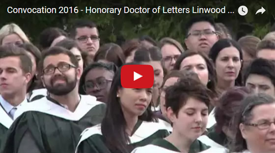 Honorary Doctor of Letters Linwood Barclay