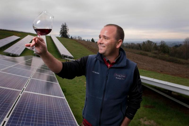 Solar Winery Tour