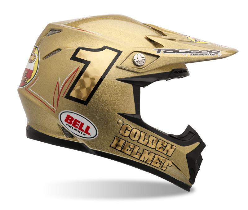 Bell Golden Helmet 2011